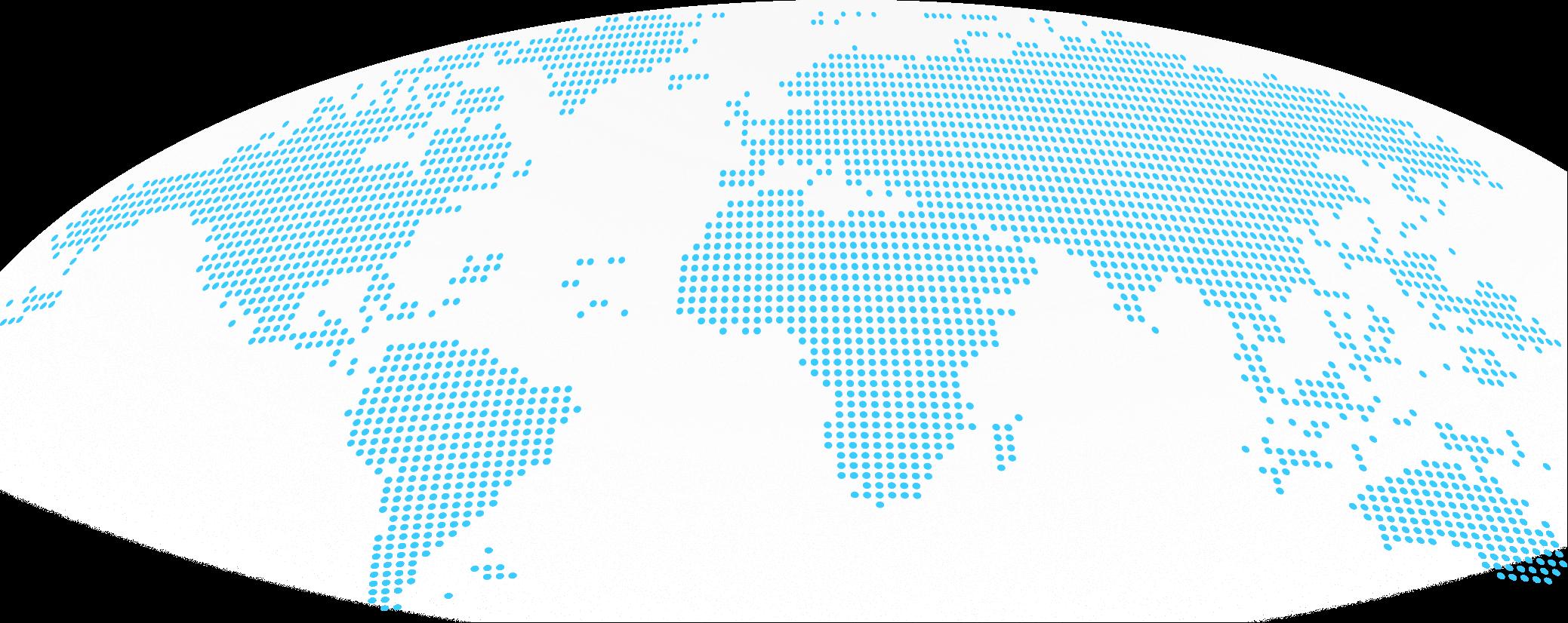 Bluefort World Partner Map